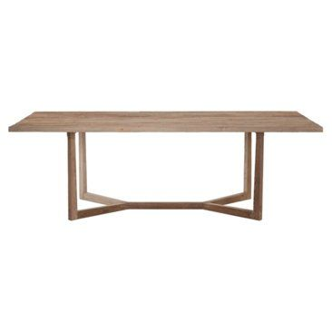 """Check out this item at One Kings Lane! Ranson 100"""" Dining Table, Natural"""