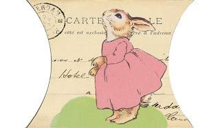 Wild@heart: Friday freebie - bunny pillow box