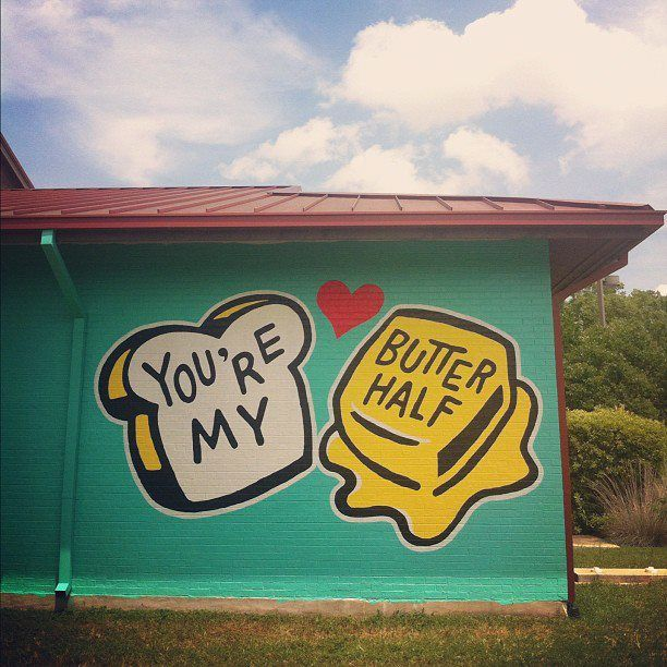 The newest addition to East Austin's mural art scene is located on