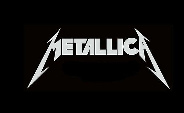 The iconic jagged lettering was created for Metallica's first album 'Kill Em All' by singer/guitarist James Hetfield in 1983. Controversially, it was changed to a blander version for 1996's 'Load' album - although the stabbing 'M' and 'A' were reinstated for 2003's 'St Anger'.