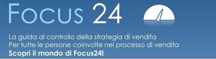 Focus24 Vendite è la guida al controllo della strategia di vendita messa in atto attraverso una analisi delle vendite semplice, veloce e sop...