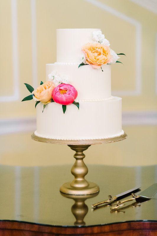PPHG Events | Hazelnut Wedding Cake with Chocolate Buttercream by PPHG pastry chef Jessica Grossman | Lowndes Grove Plantation Wedding in Charleston, SC | Photo by Aaron & Jillian
