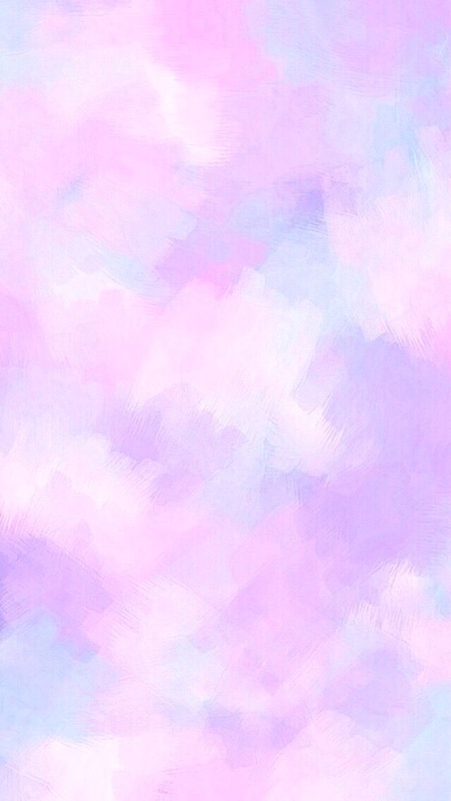Purple pastel watercolour iPhone wallpaper