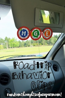 Six Sisters Stuff: 50 Road Trip Ideas for Kids!  Wish I would have seen this before last week ;)