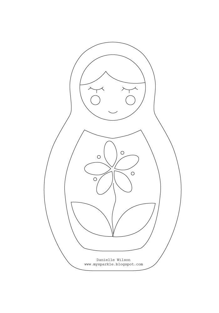 matryoshka pattern / tutorial