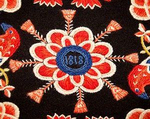 Skånskt Yllebroderi | Traditional scanian wool embroidery