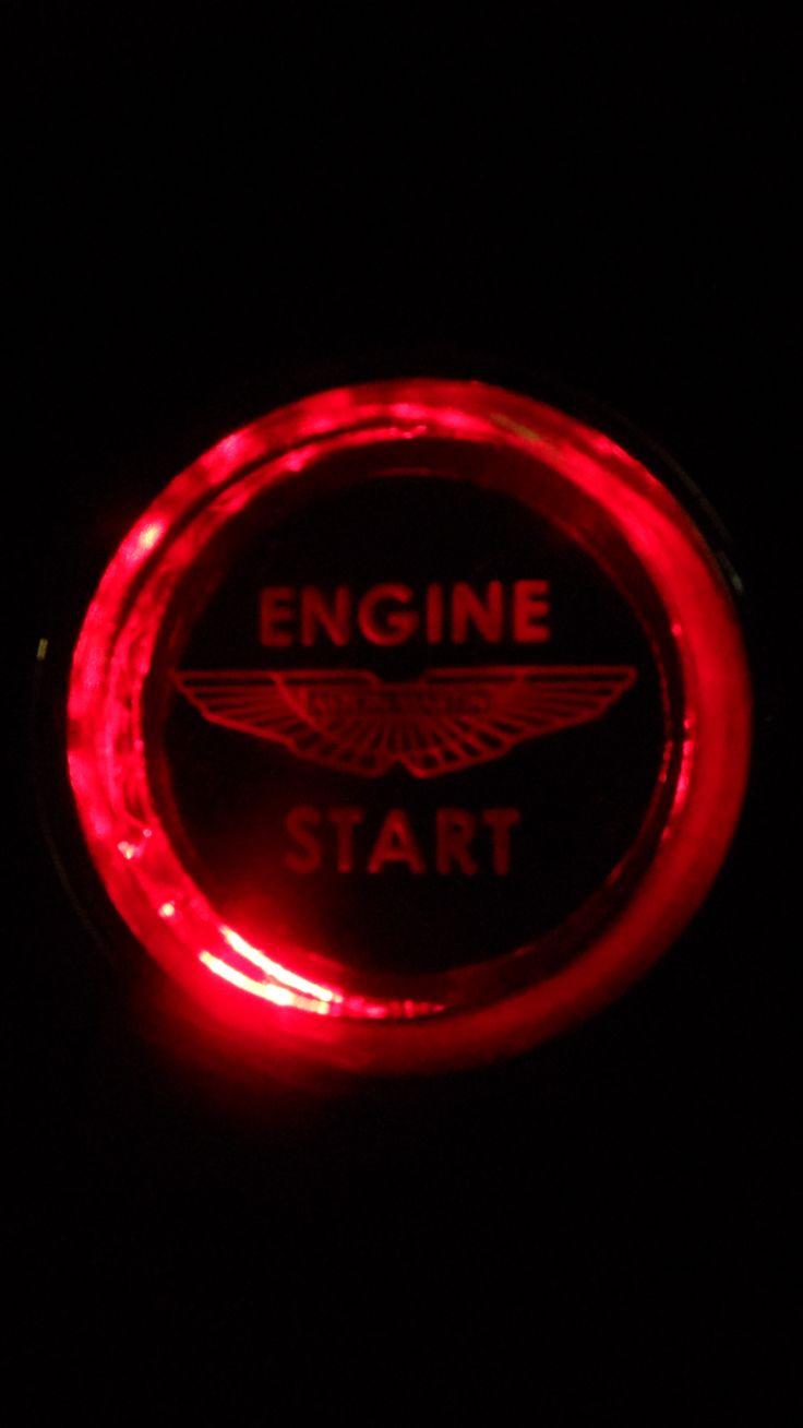 Starter button ready to go!