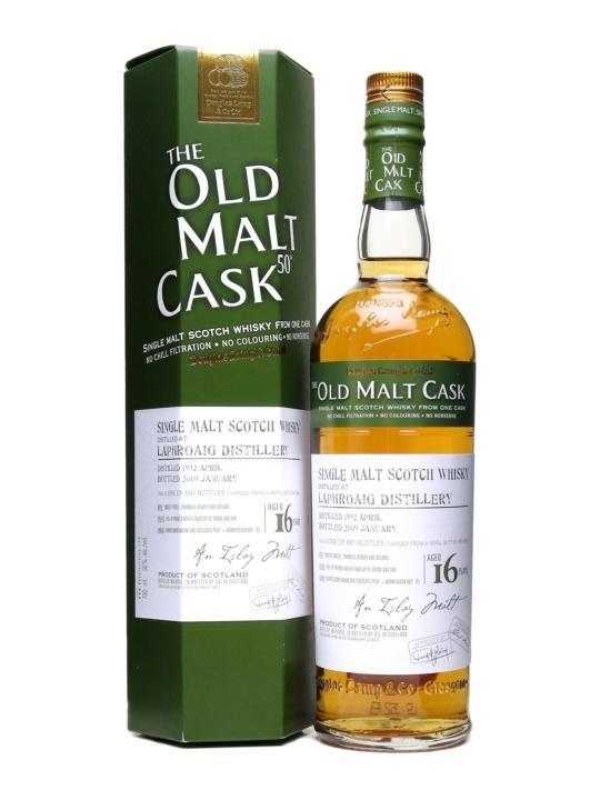Laphroaig 1992 / 16 Year Old / Old Malt Cask #4825 : Buy Online - The Whisky Exchange