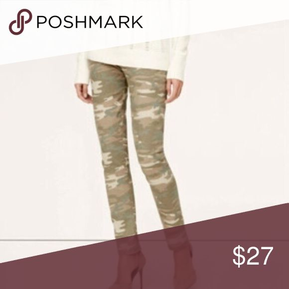Ann Taylor Loft Camo Pants Desert Camo wash relaxed skinny jeans by Anne Taylor Loft. Not too bold but neutral color. Excellent Used Condition. Size 31/12. 00-16-11-11-27 LOFT Pants Skinny