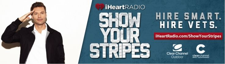 Kelly Clarkson, Krewella, Adam Lambert, Ryan Seacrest, Flo Rida and Others Join iHeartRadio Show Your Stripes to Support Hiring Vets