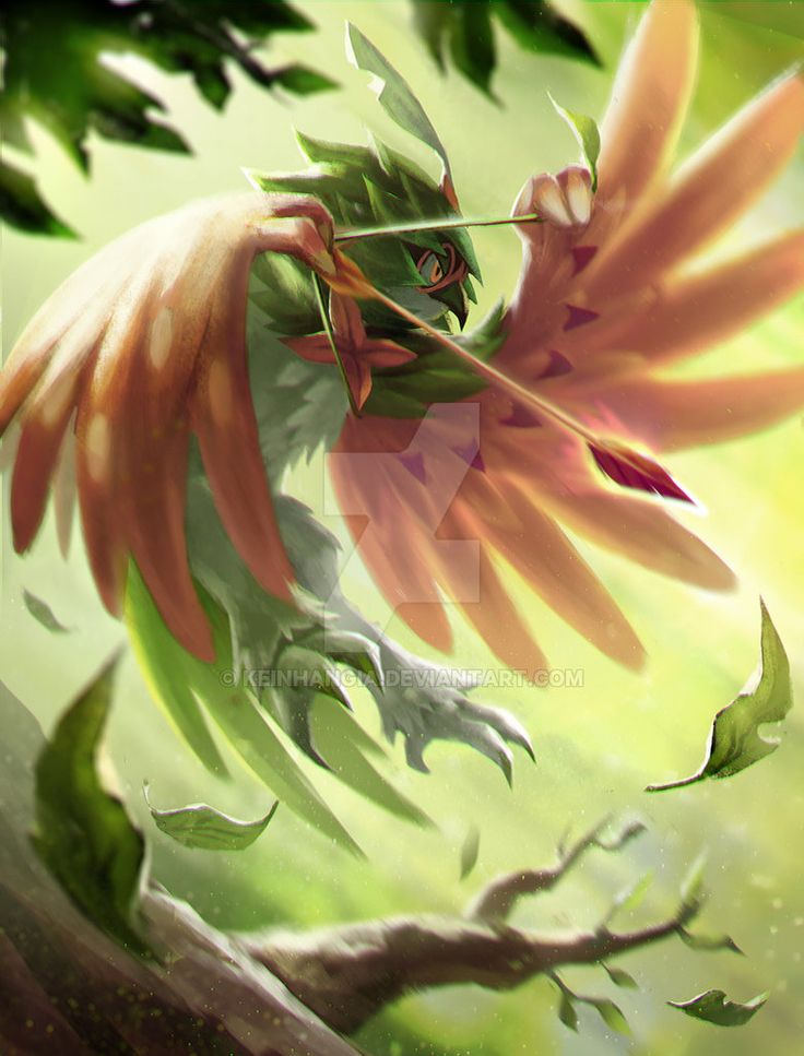 Decidueye Spirit Shackle