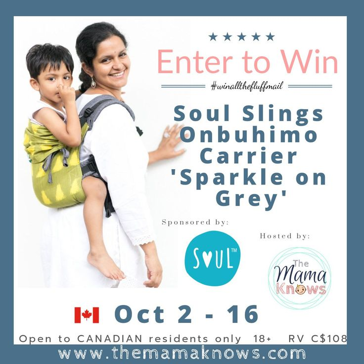 Soul Onbuhimo Baby Carrier Giveaway - Mom's Little Feat