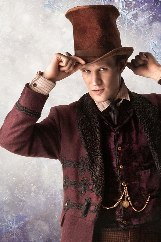 """Geek or ::swoon::...Geek or ::swoon::....The Eleventh Doctor from """"The Snowmen,"""" Doctor Who Christmas Special <3"""