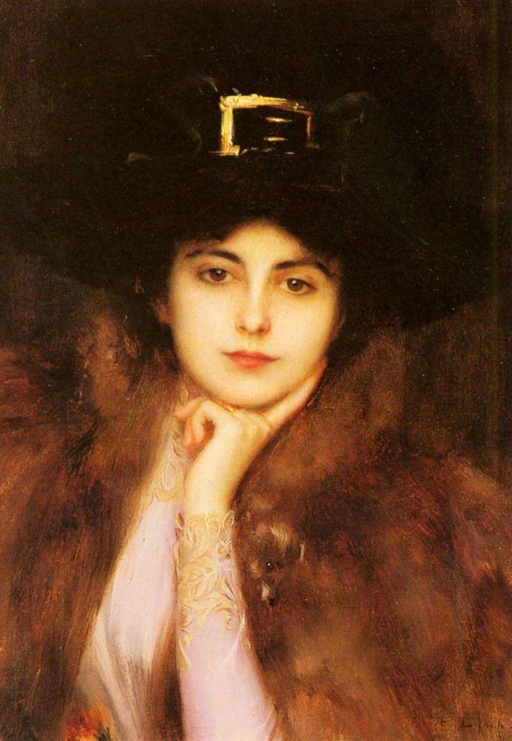 by Albert LynchThe Women, Wise Women, Painting Art, Elegant Lady, Albert Lynch, Portraits, Lynch 18511912, Oil Painting, 1851 1912