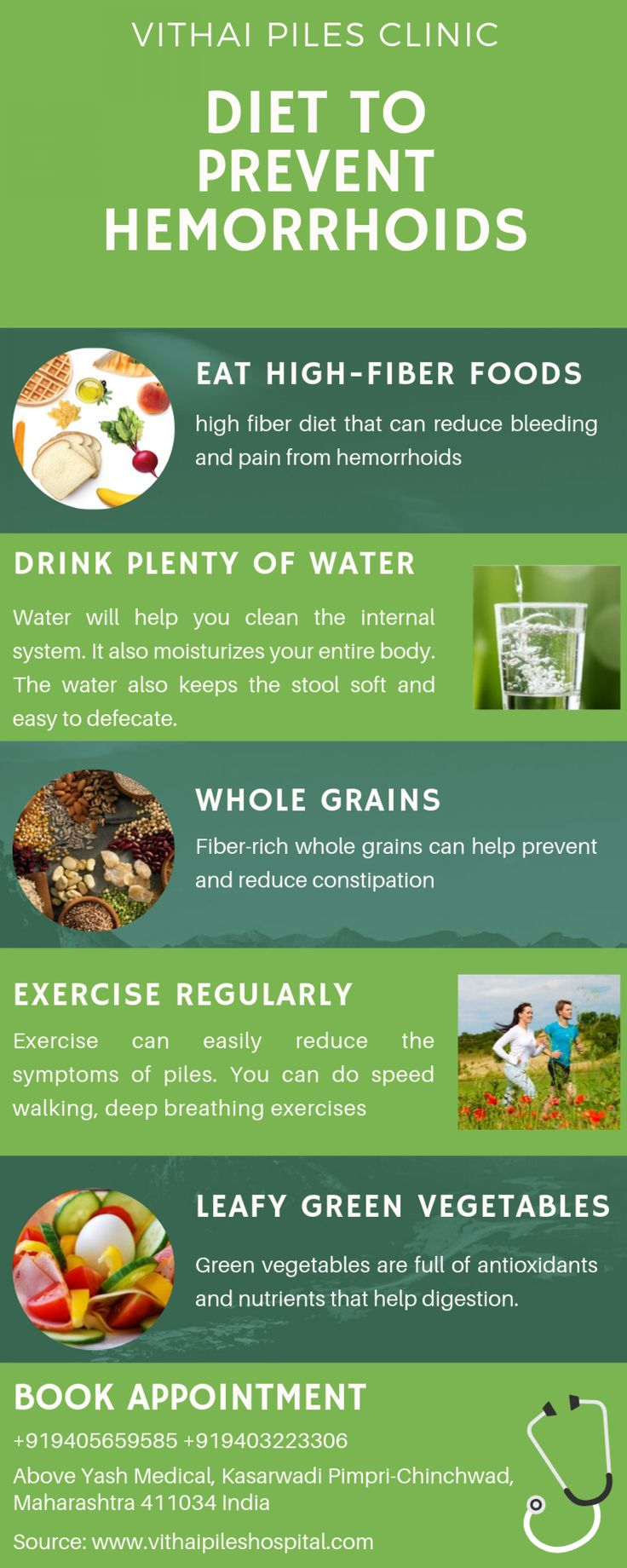 Diet for Hemorrhoids Sufferers Visual.ly Hemorrhoids