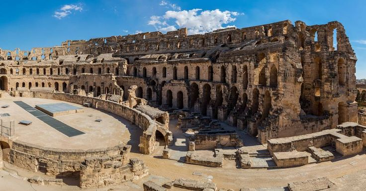 "116 Likes, 1 Comments - Beatifull World (@imagesgram) on Instagram: ""#Amphitheatre of El Jem is an archeological site in the city of El Djem, Tunisia. It is listed by…"""