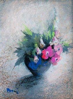 PINK FLOWERS By Elvi Maarni