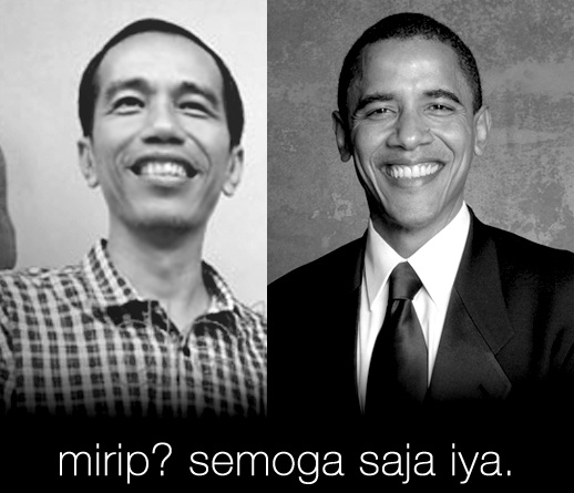 Both born 1961, Jokowi (21Jun1961) a bit older, so, is Obama (4Aug1961+ GrewUpInIndonesia) like his big bro Jokowi?! ;-D Jokowi on the Fortune-Magazine list of the 50 greatest world's leaders...#1:Pope Francis, #2:Dr. Merkel, #37:Jokowi, Obama not on the list! So, must learn from his big bro Jokowi lol ;-D 1961 with human element earth like my human element, no wonder both wise,though big bro Jokowi wiser, just like me lol ;-D