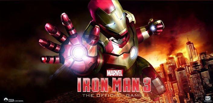 Iron Man 3 Mod APK+DATA v1.0.1(Unlimited Money and Crystals) free download full version android action game