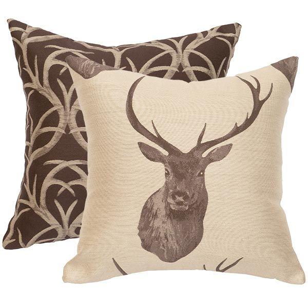 Elk Horn Mountain Reversible Pillow