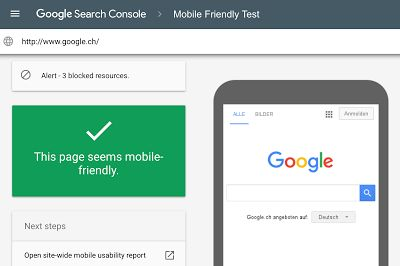 Official Google Webmaster Central Blog: A new mobile friendly testing tool