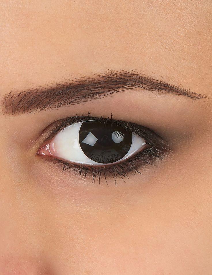 Lentilles de contact oeil noir adulte : Ces lentilles de contact fantaisie pour adultes sont de couleur noir. Elles mesurent 14,5 mm de diamètre. Elles ne peuvent être utilisées qu'une fois après...