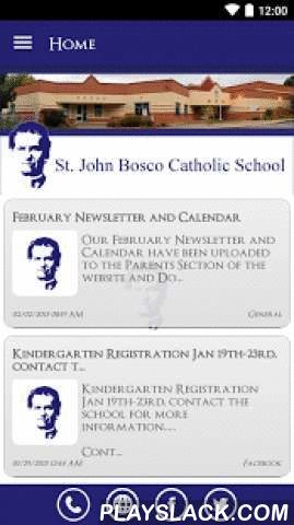 St. John Bosco Catholic School  Android App - playslack.com ,  The St. John Bosco Catholic School app by SchoolInfoApp enables parents, students, teachers and administrators to quickly access the resources, tools, news and information to stay connected and informed!The St. John Bosco Catholic School app by SchoolInfoApp features:• Important news and announcements• Teacher notifications• Interactive resources including event calendars, maps, a contact directory and more• Student tools…