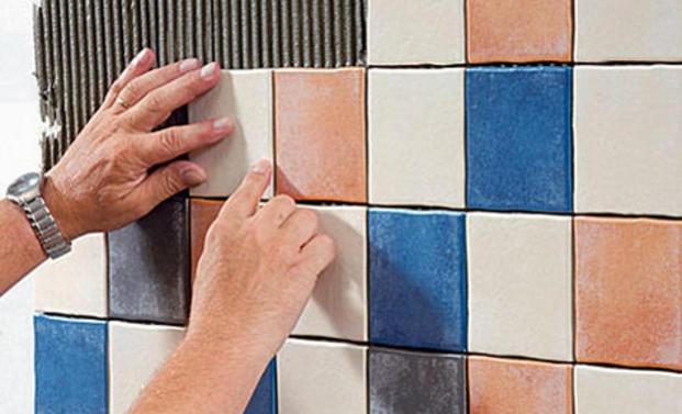 Fliesen Verlegen Anleitung Wand : Fliesen verlegen ... einfach erklärt
