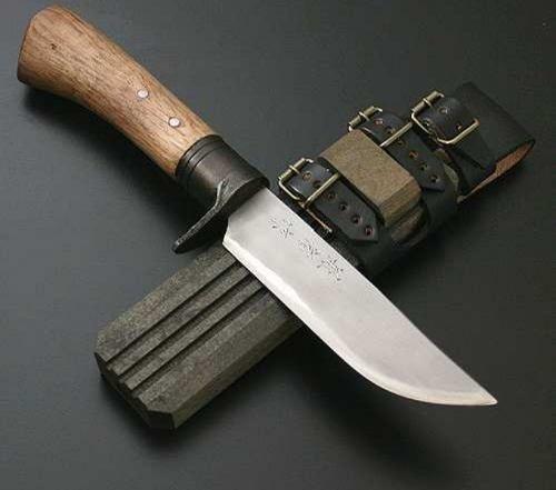 faca tradicional japonesa kanetsune sazanami bokashi srk-8
