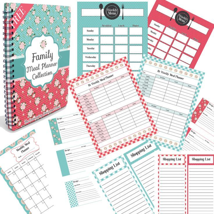 Free Family Meal Planner