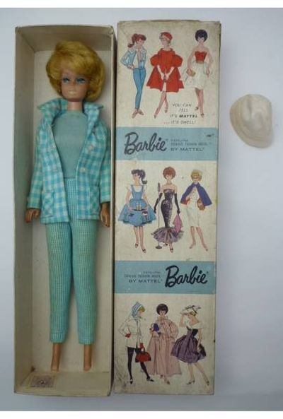 1960s Barbies still in their boxes