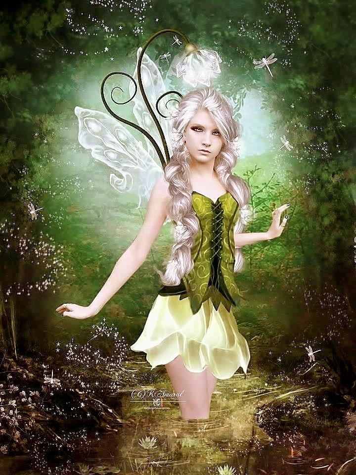 Редкие картинки с феями и эльфами