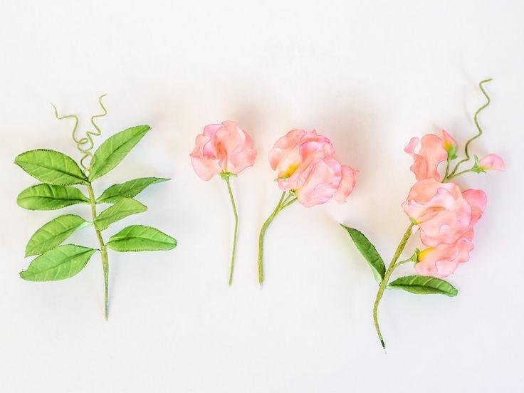 Tutorial Sweet Pea / Wicke / Edelwicke aus Blütenpaste