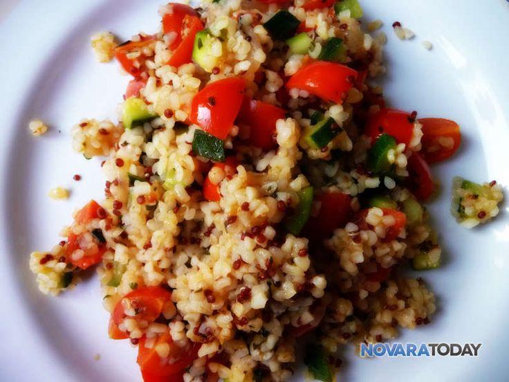 Bulgur e quinoa con pomodorini, zucchine e basilico - Blog
