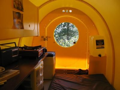 304 best images about micro housing shelter for the homeless on pinterest micro house - The cork hut a flexible housing alternative ...