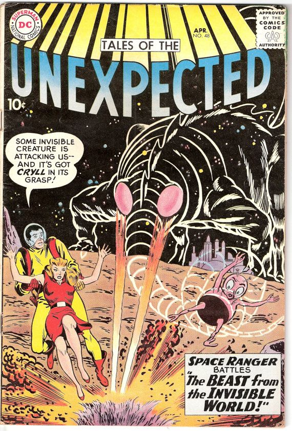 Tales of the Unexpected 48 DC Comics Outer Space Ranger Beast Aliens 1960 FN+ by LifeofComics #comicbook