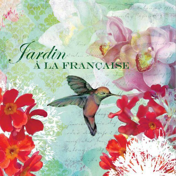 "Poster ""Jardin Francais"" http://www.artfoyer.ro/jardin-francais.html"