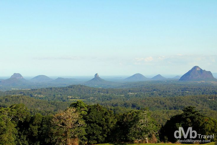 The Glass House Mountains, The Sunshine Coast, Queensland, Australia | dMb Travel - Travel with davidMbyrne.com