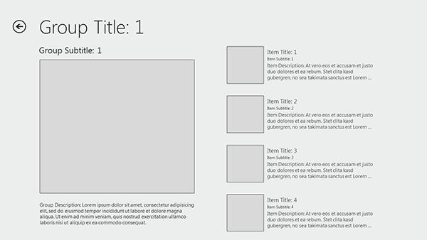 Free windows 8 wireframe templates for powerpoint for Powerpoint wireframe template for ui design
