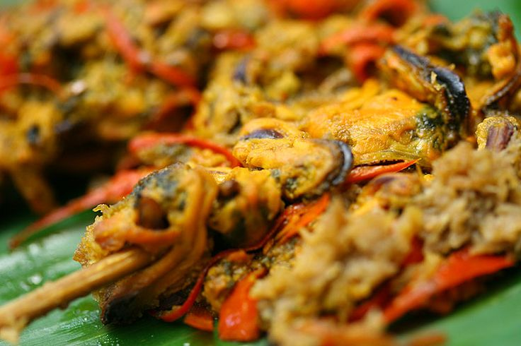 Cockle satay (Sate Kerang) - Indonesian Recipe