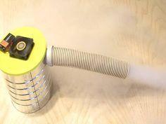 DIY mini fog machine