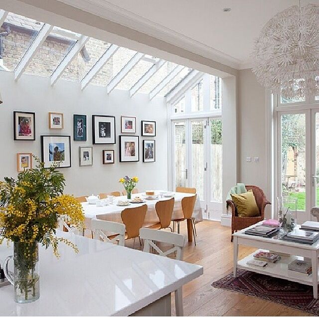 Pics - LOVING THIS GLORIOUS DINING AREA WITH THE GLASS CEILING! - IT IS CLOSE TO THE KITCHEN & IS SO BEAUTIFULLY DECORATED, IT WOULD BE A PLEASURE TO INVITE GUESTS, TO DINE WITH ME, HERE!!
