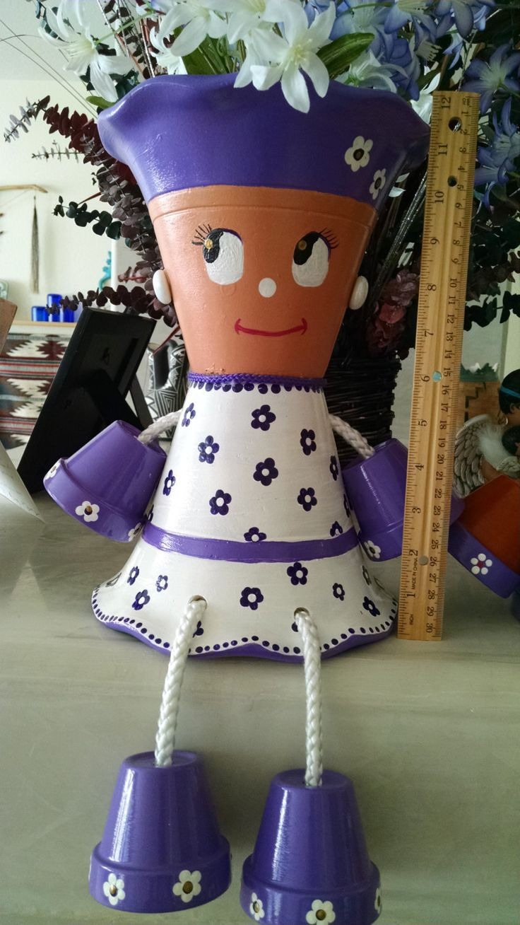 Preteen Purple Posie pot buddy