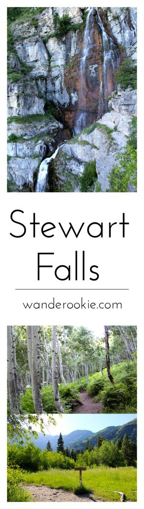 One of the best hikes in Utah! Stewart Falls should be on everyone's bucket list this summer!