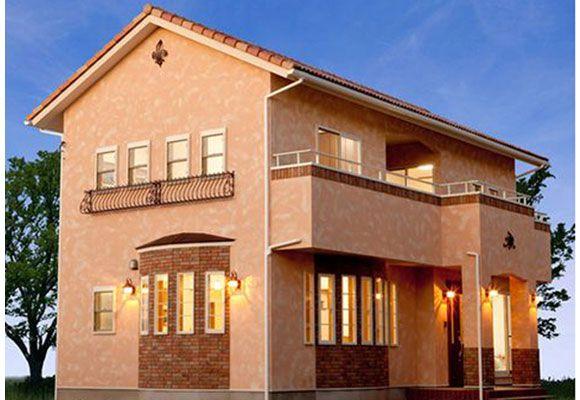 ヨーロッパの風を感じるマイホーム マイホーム 住宅 外観 住宅
