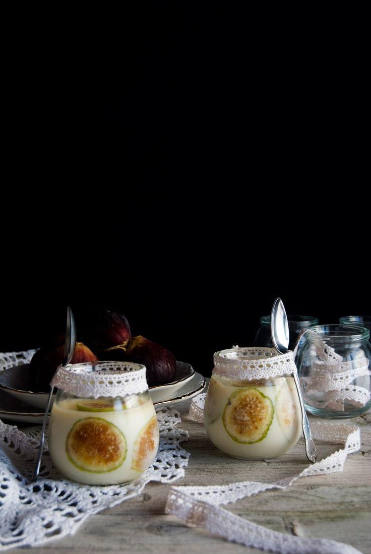 La asaltante de dulces: Receta de panacota de higos y anís/ Figs & anise pannacotta recipe. Yummmy!
