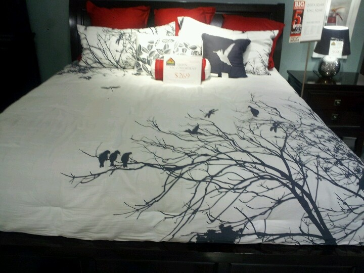 Love this bed set.