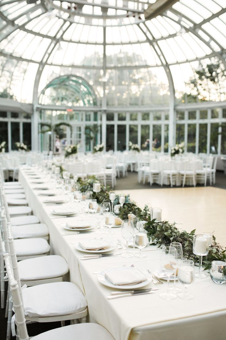 Photography : Nicki Sebastian | Floral Design :  Lindsay Podesta and team, Whole Foods Market Brooklyn | Venue : Brooklyn Botanic Garden | Coordination : Whimsy Weddings Read More on SMP: http://www.stylemepretty.com/new-york-weddings/new-york-city/brooklyn/2015/09/17/romantic-summer-wedding-at-brooklyn-botanic-garden/
