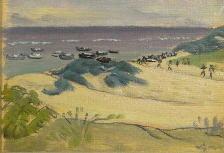 John Lyman. Silver Sands, Barbados. c 1957