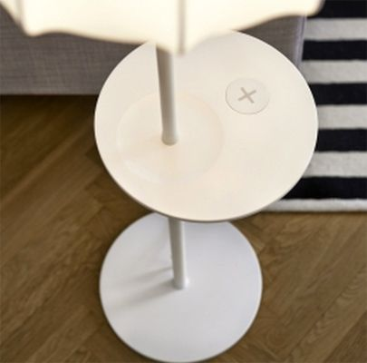 Deze Ikea-tafels en -lampen laden je gadgets draadloos op | B R I G H T
